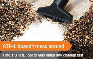 Find a STIHL Tool to make any cleanup fast